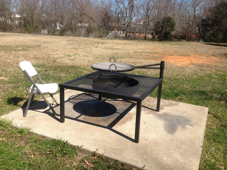 ... fire_pit_cowboycooker.jpg; fire_pit_cowboycooker2.jpg - Custom BBQ Smokers Custom BBQ Pits Fire Pits BBQ Trailers